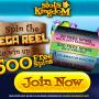Slots Kingdom Casino - 500 Free Spins