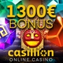 Casillion Casino - €1300 Welcome Package