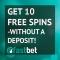 FastBet Casino - 110 Free Spins & €100 Bonus