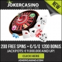 Joker Casino - 50 Free Spins & €/$/£100 Bonus