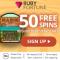 Ruby Fortune - 50 Spins & $/€750 Bonus