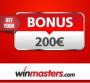 Winmasters Casino €200 Welcome Bonus