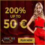 Unique Casino - 200% Exclusive Bonus