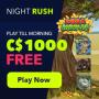 NightRush Casino - CA$1000 Welcome Bonus