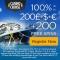 Casino Cruise 200 Free Spins & £/€/$200 Bonus