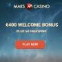 Mars Casino - 25 Free Spins & €150 Bonus