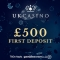 UK Casino - £10 No Deposit & £500 Bonus