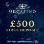 UK Casino - £10 No Deposit & £500 Bonus
