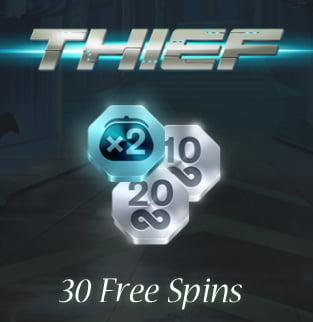 Free Spins on Thief slot