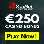 4YouBet Casino – €300 Welcome Bonus