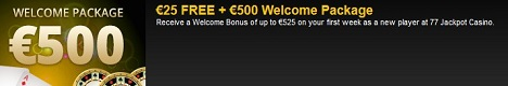 77Jackpot Casino Bonus