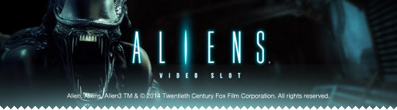 Aliens free spins at Casino Room