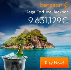 Betsson Jackpot Free Spins