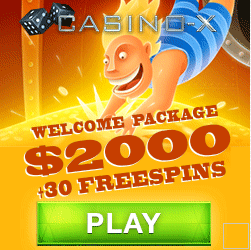 Casino-X 200% Up To €200 Bonus