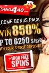 Casino440 – €6250 Bonuses & Free Spins