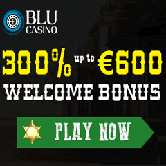 BLU Casino 300% Up To €600 Bonus
