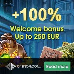 Casino Floor €250 Welcome Bonus