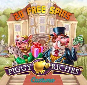 Piggy Riches Free Spins