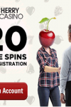 Cherry Casino 20 Free Spins & 80 FS Bonus