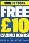 Coral Casino £10 Bonus – UK Only