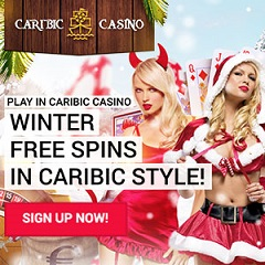 Caribic Casino 100% Up To €150 Bonus