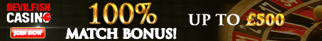Devilfish Casino Bonus