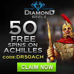 Diamond Reels Casino 100 Free Spins & 150% Bonus