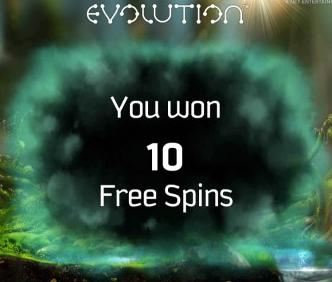 Evolution Netent Free Spins