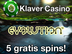 Klaver 5 Free Spins 28 December