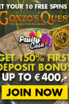 Fruity Casa Casino 10 Free Spins & 150% Up To €400 Bonus