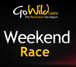 Go Wild Free Spins Weekend Race