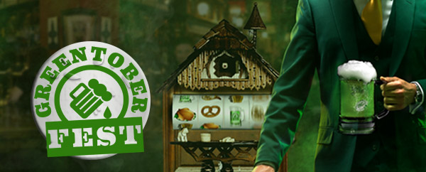 MrGreen Greentober Fest Promotion
