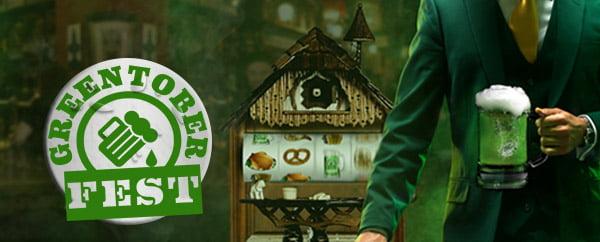MrGreen Greentober Fest Promotion
