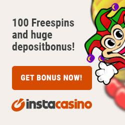 Instacasino 20 Free Spins & €1000 Bonus