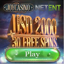 Joycasino 200% Up To €200 Bonus