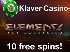 Klaver 30 December - No deposit Spins