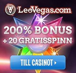 Leo Vegas Mega Fortune free spins
