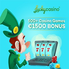 Lucky Casino 10 Free Spins & €500 Bonus