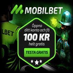 MobilBet Casino 100 KR No Deposit & 200% Bonus