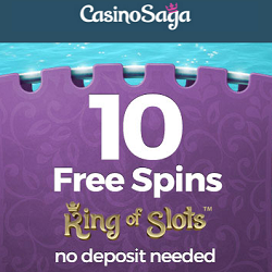 10 Free Spins No Deposit At Casino Saga