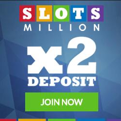Slots Million 100 Free Spins & €100 Bonus