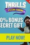 Thrills Casino 10 Free Spins on Starburst & 200% Bonus + 50 Free Spins