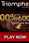 Triomphe Casino 300% Up To €600 Bonus