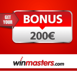 Winmasters Casino €200 Welcome Bonus