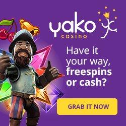 Yako Casino 200% Welcome Bonus
