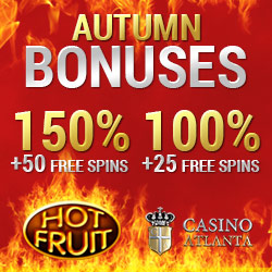 Casino Atlanta €25 No Deposit & €1000 Bonus