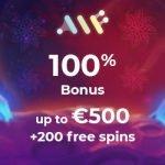 Alf Casino - 200 Spins & €500 Bonus