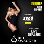 Bet Swagger Casino - $500 Welcome Bonus