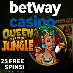 Betway Casino 100 Free Spins & € 250 Bonus