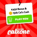 Casino Calzone – €450 Bonus